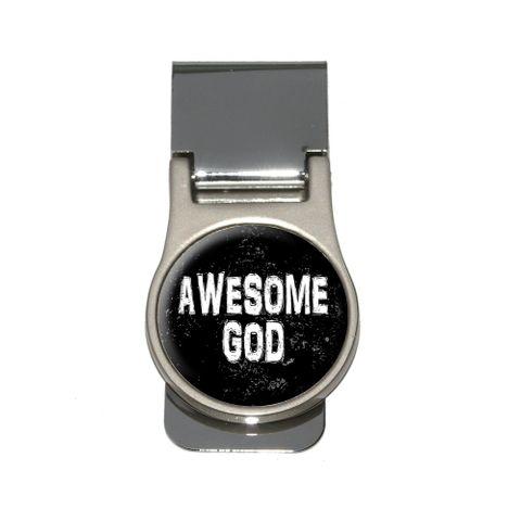 Awesome God - Christian Religious Inspirational Money Clip