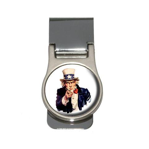 Uncle Sam - USA Money Clip