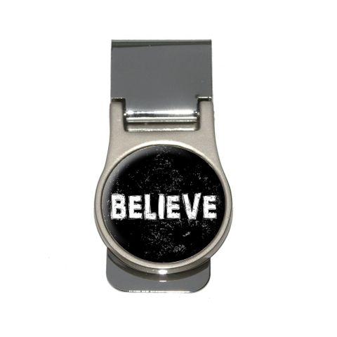 Believe - Christian Religious Inspirational Money Clip