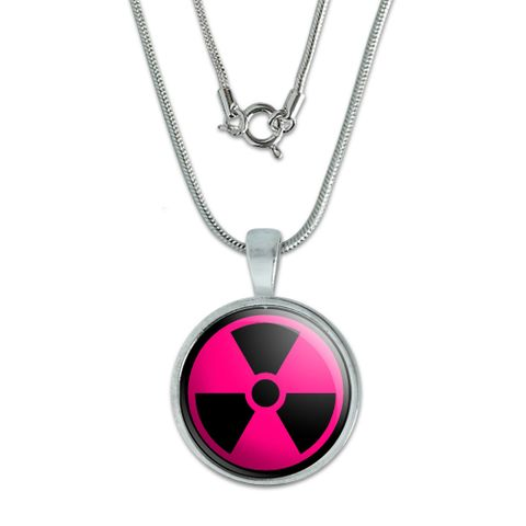 Radioactive on Pink Small Pendant