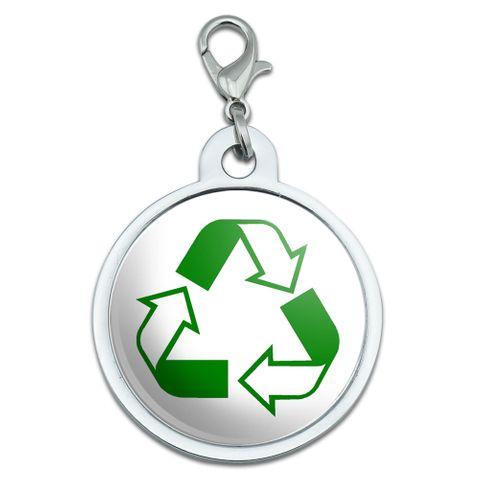 Recycle Hybrid Large Metal ID Pet Dog Tag