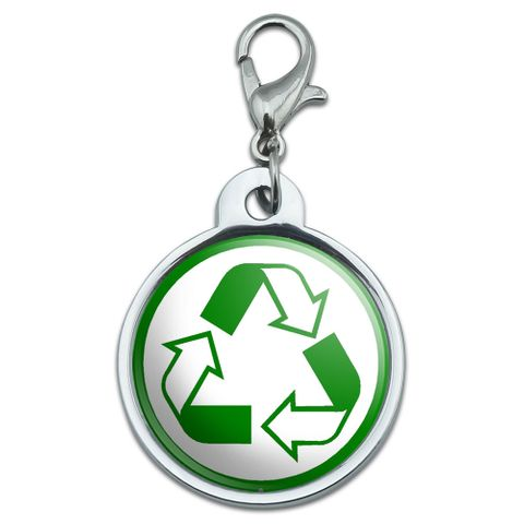 Recycle Reuse Conservation - Hybrid Small Metal ID Pet Dog Tag