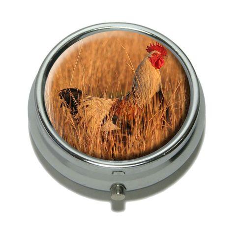 Free Range Chicken Pill Box