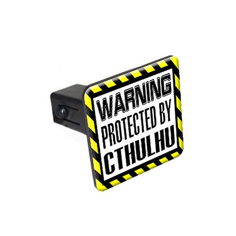 Protected By CTHULHU Tow Hitch Cover