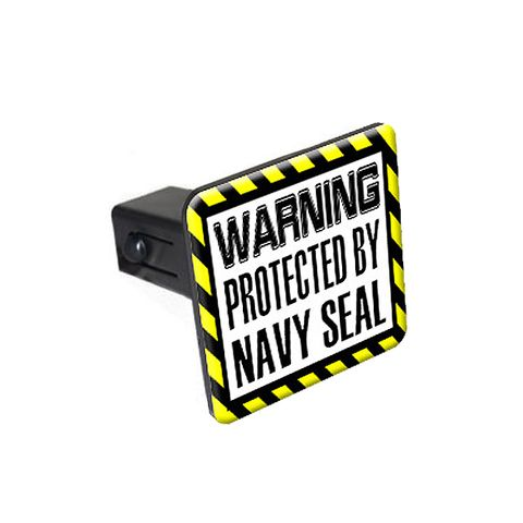 Protected By Navy Seal Tow Hitch Cover