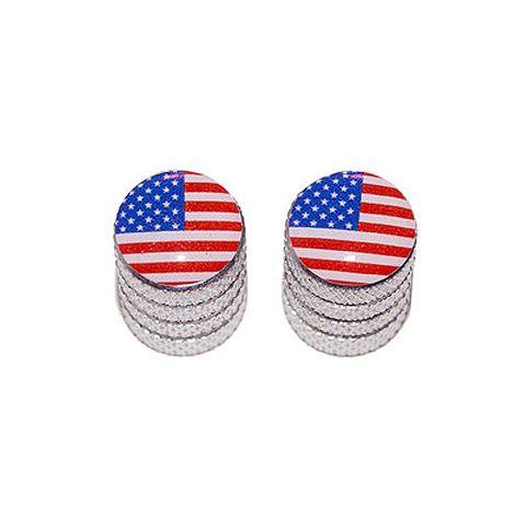 American Flag - Bike Valve Stem Caps