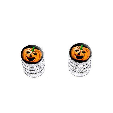 Jack-o-lantern - Pumpkin - Halloween - Bike Valve Stem Caps