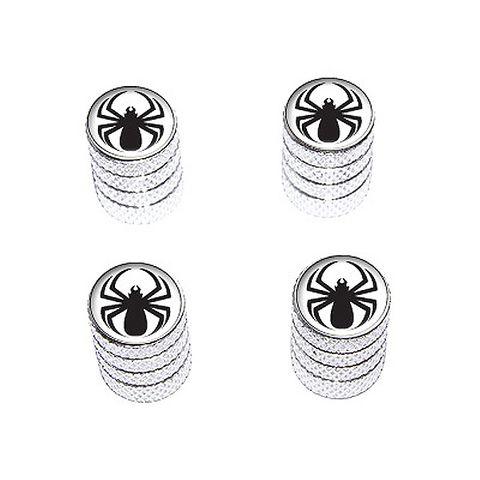 Spider Black - Valve Stem Caps