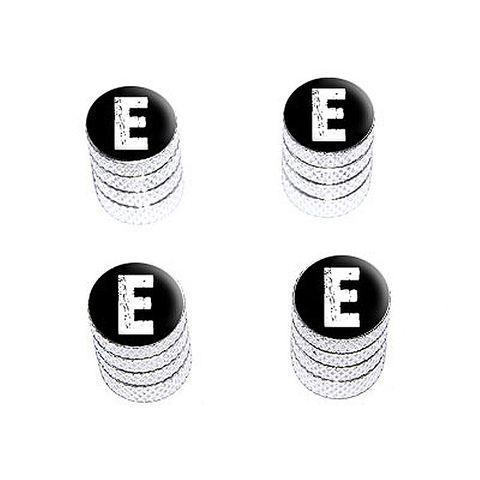 E Letter Distressed - Valve Stem Caps