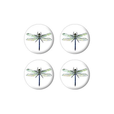Dragonfly Set of 3D Stickers - No. 2