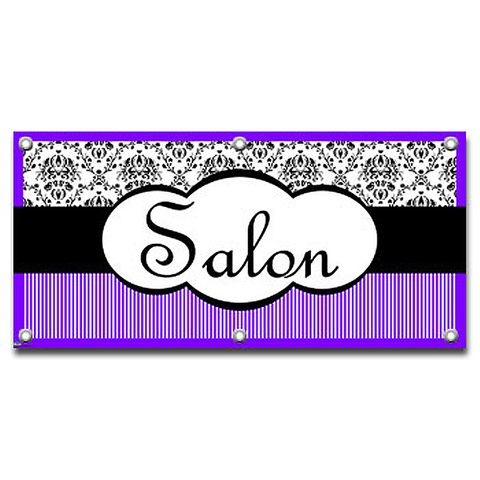 Salon Elegant - Hair Barber Business Sign Banner