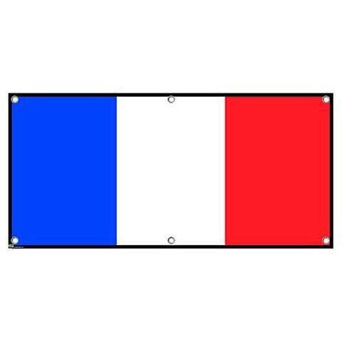 France Flag - French Paris International Celebration Party Banner