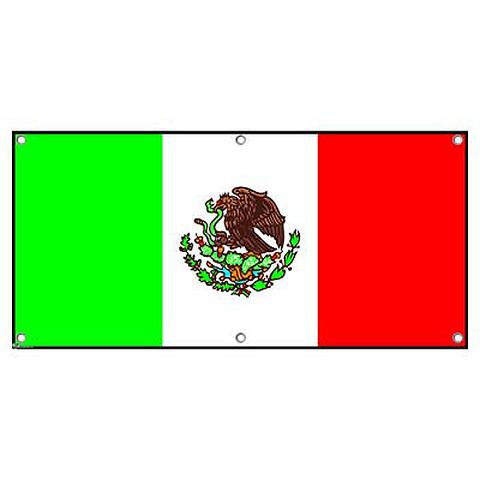Mexico Mexican Flag Party Fiesta Cinco De Mayo - International Celebration Banner