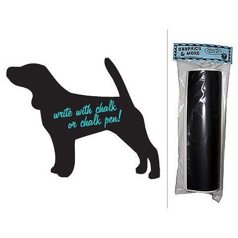 Dog Beagle Chalkboard Vinyl Wall Sticker