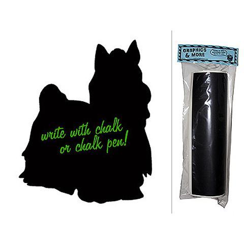 Dog Yorkshire Terrier Chalkboard Vinyl Wall Sticker