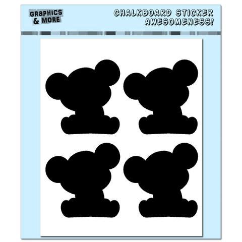 Koala Bears - 4 Sheets Chalkboard Stickers