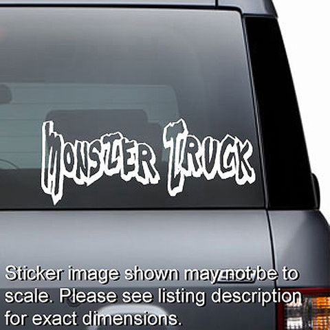 Monster Truck Decal