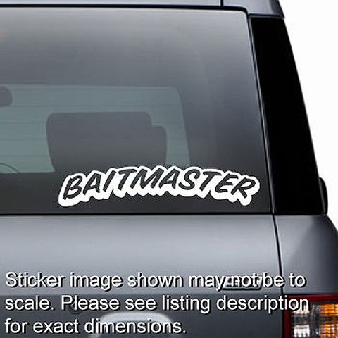 Baitmaster Decal