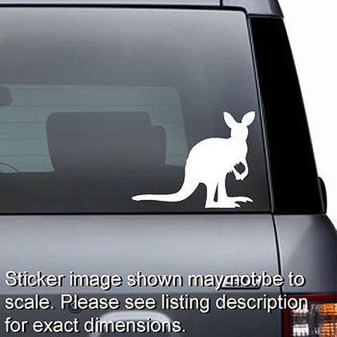 Kangaroo Decal - No. 1