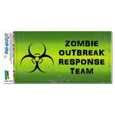 Zombie Outbreak Response Team Green Distressed MAG-NEATO