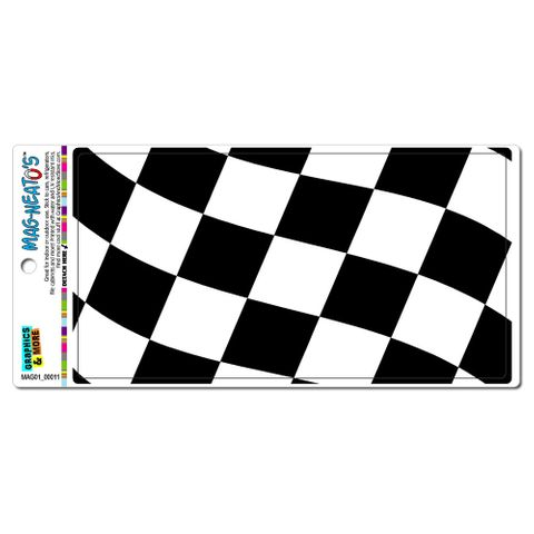 Checkered Racing Flag MAG-NEATO