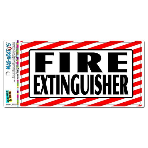 Fire Extinguisher - Business Sign MAG-NEATO