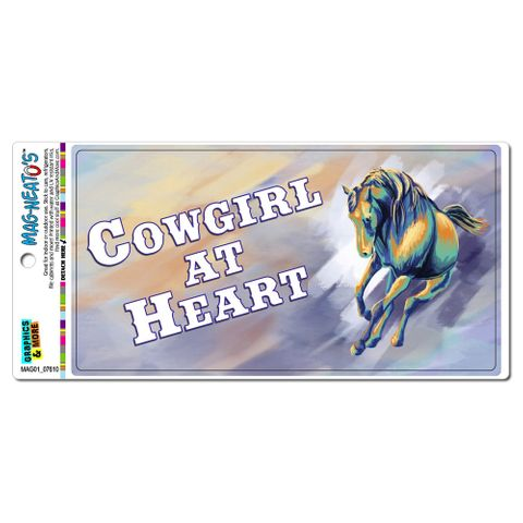 Cowgirl at Heart - Country Horse MAG-NEATO