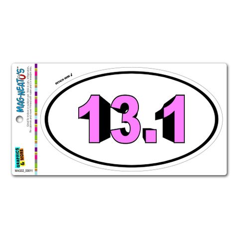 13.1 Bold Pink - Runner Running Euro Oval MAG-NEATO