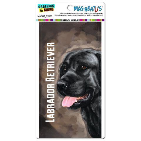 Black Labrador Retriever Brown - Dog Pet MAG-NEATO