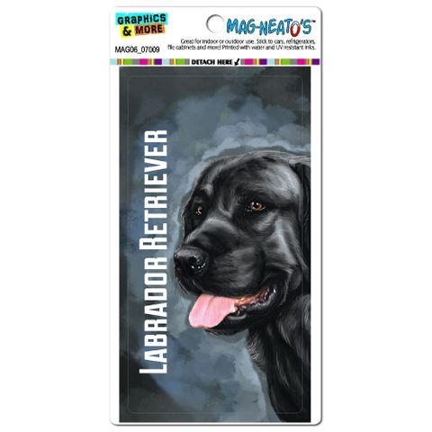 Black Labrador Retriever Blue - Dog Pet MAG-NEATO