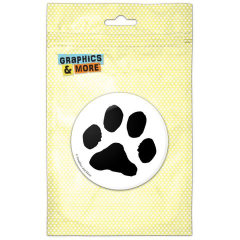 Paw Print Pet Dog Cat Refrigerator Button Magnet