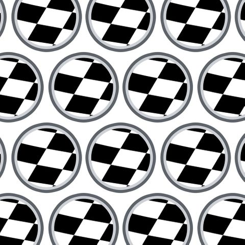 Checkered Flag Racing Premium Gift Wrap Wrapping Paper Roll