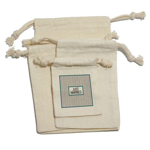 Just Married - Wedding Bridal Shower Gift Bag