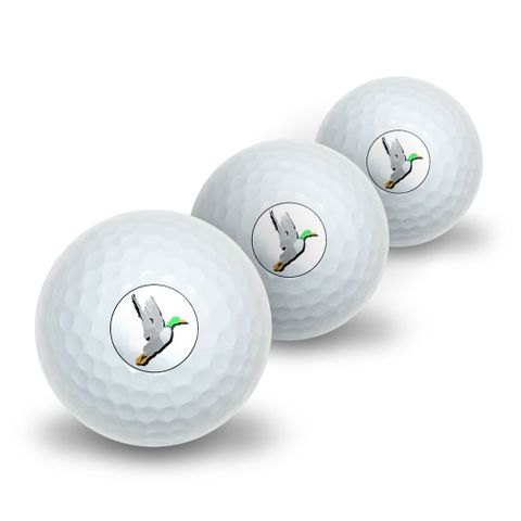 Duck Hunting - Hunter Novelty Golf Balls 3 Pack
