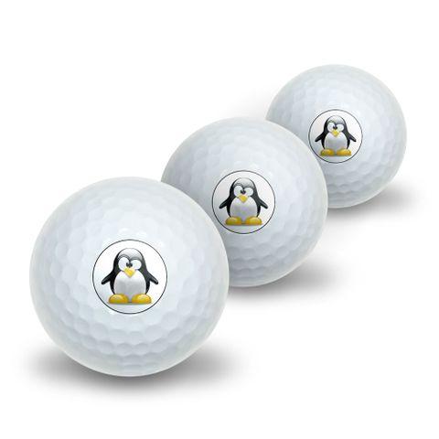 Penguin - Snow Bird Novelty Golf Balls 3 Pack