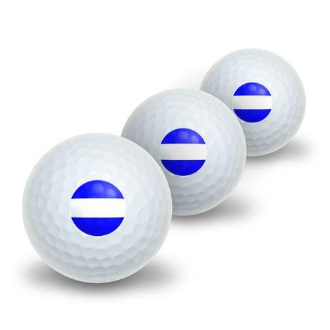 Thin White Line Medical MD RN EMT Novelty Golf Balls 3 Pack