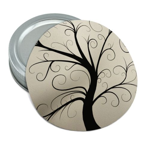 Tree of Life Round Rubber Non-Slip Jar Gripper Lid Opener