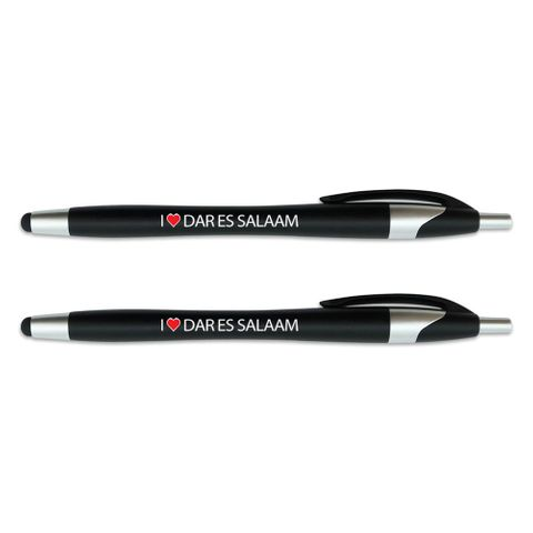 I Love Dar Es Salaam Stylus Ball Point Pen 2 Pack