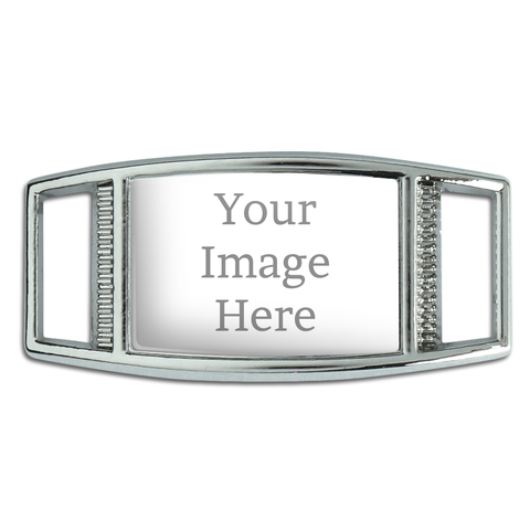Custom Rectangle Shoe Charm