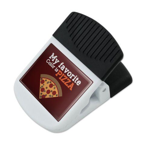 My Favorite Color is Pizza Refrigerator Fridge Magnet Magnetic Hanging Hook Note Snack Clip