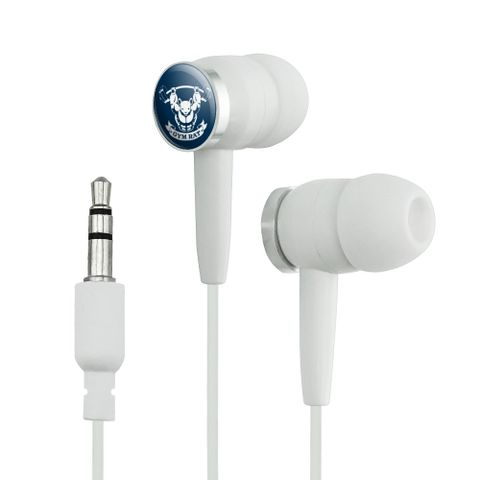 Gym Rat Workout Weight Lifting Novelty In-Ear Earbud Headphones
