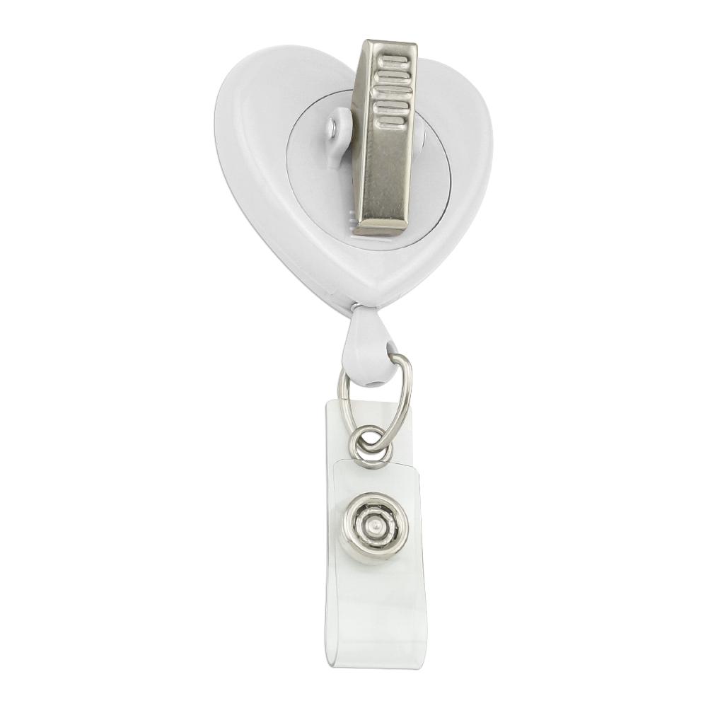 Black-Fox-I-Don-039-t-Give-A-Pun-Heart-Lanyard-Retractable-Reel-Badge-ID-Card-Holder miniatuur 7