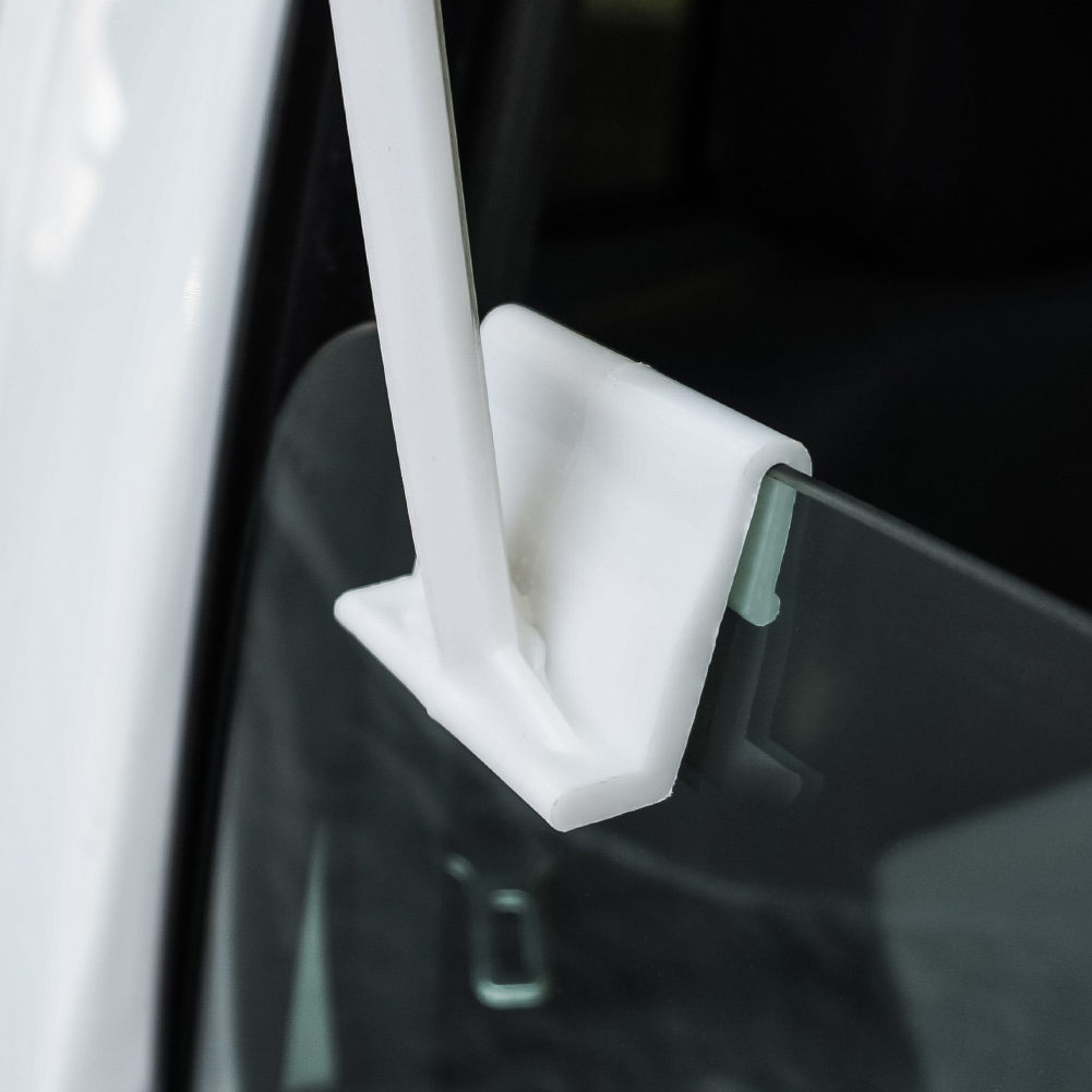 Donkey-on-Ranch-Car-Truck-Flag-with-Window-Clip-On-Pole-Holder