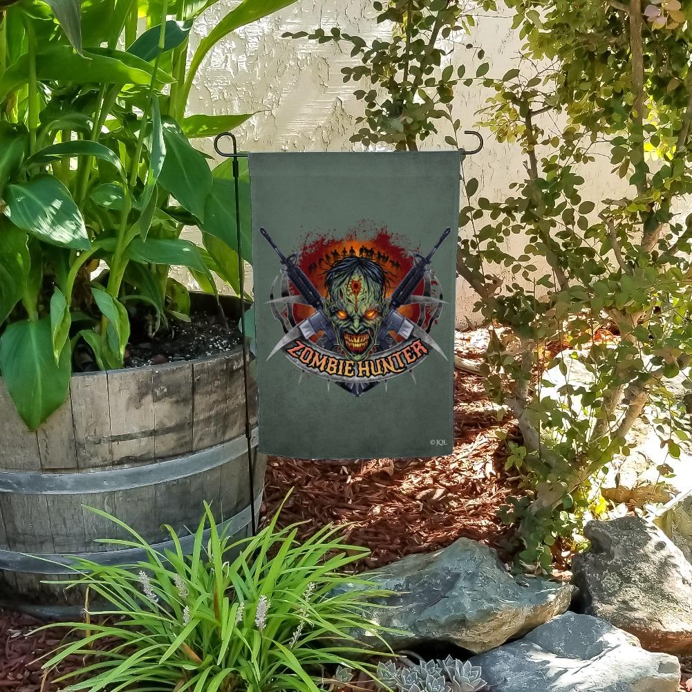 Zombie-Hunter-Undead-Rifles-Garden-Yard-Flag miniature 7