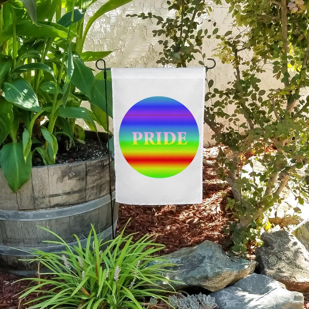 Rainbow Spectrum LGBT Pride Gay Lesbian Bisexual Transgender Garden Yard Flag