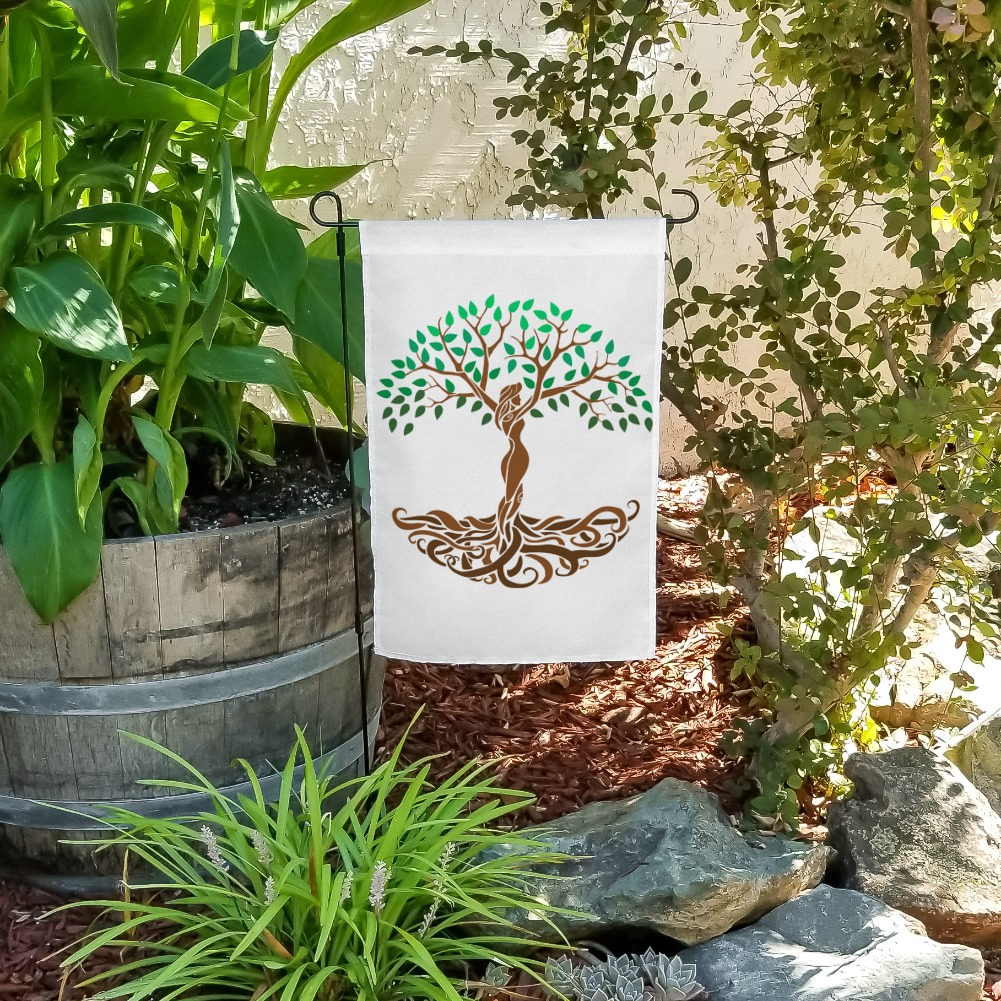 Tree of Life Mother Nature Garden Yard Flag