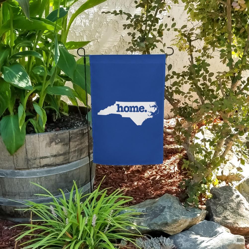 North Carolina NC Home State Solid Navy Garden Yard Flag