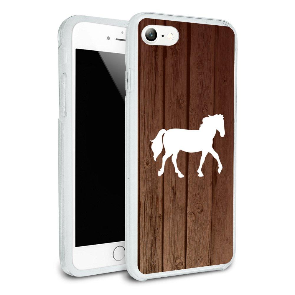 promo code cd434 10c57 Details about Horse Silhouette Cowboy Western Slim Hybrid Case Fit iPhone  8, 8 Plus, X
