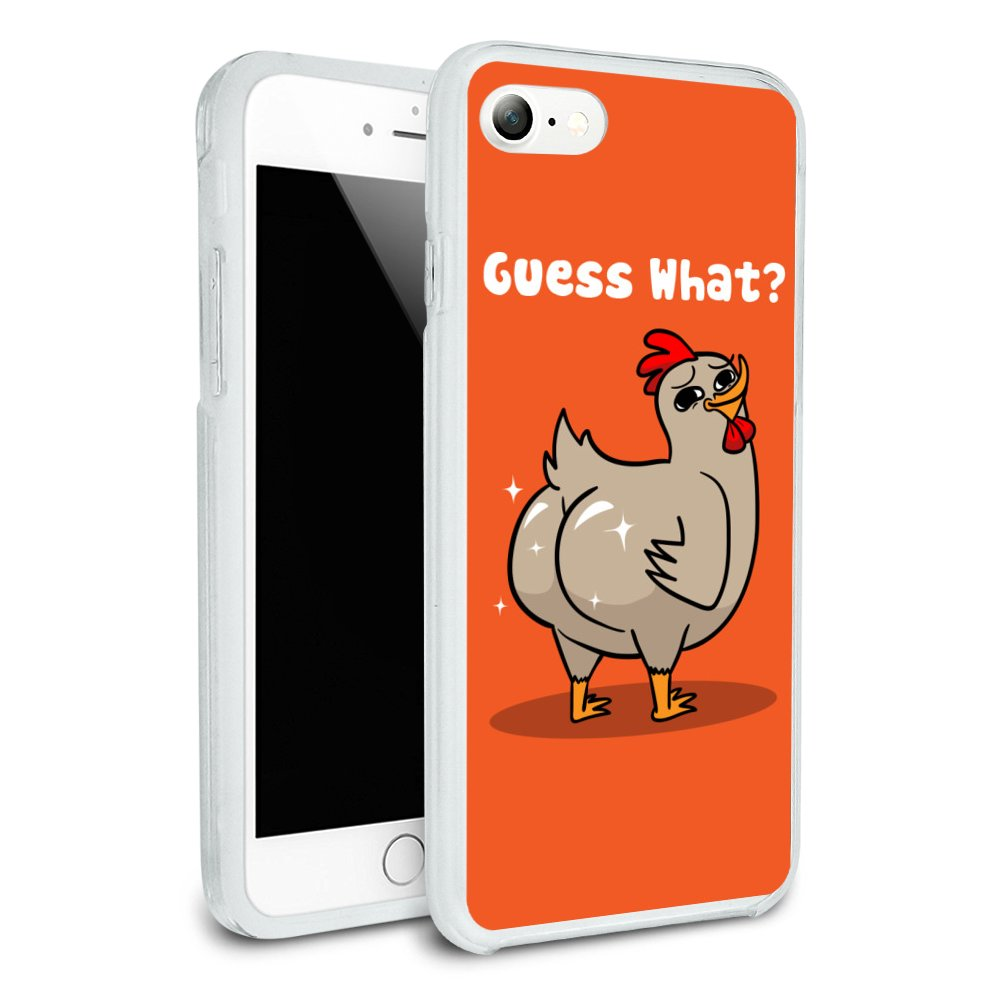 info for aace6 35d96 Details about Guess What Chicken Butt Funny Slim Hybrid Case Fit iPhone 8,  8 Plus, X