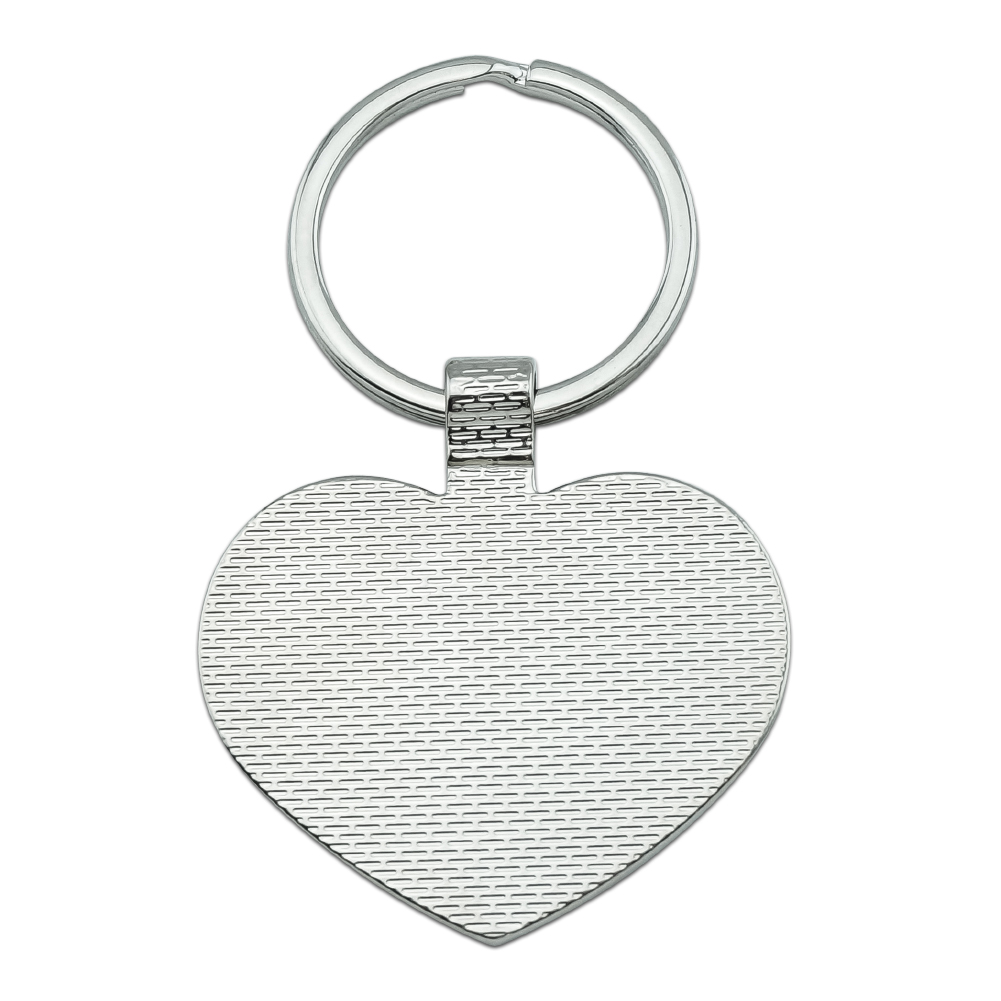Sugar Glider of the Night Heart Love Metal Keychain Key Chain Ring